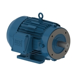 WEG 00158EP3E145TC Motor, 1.5 hp, 1760 rpm, 3 ph, 145TC Frame, TEFC, Severe Duty