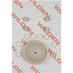 Wilden 01-9805-58 Wet Kit, 1/2'' Original Clamped, All Plastics, Wil-Flex (1/2'' O/P/WFS)