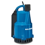 ABS Robusta 100TS Sump Pump, 1/4hp, 115V, 1ph