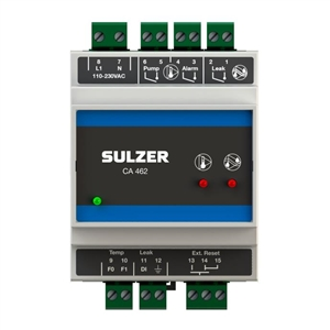 Sulzer CA462-110-230V-AC Temperature & Moisture Relay Type ABS