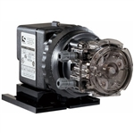 "Stenner 85MJH1B1S Metering Pump, 5 GPD, 100 PSI, 1/4"", Santoprene, Adjustable, 220V"