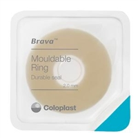Coloplast 120307 Brava Moldable Ring - 2.0mm thick, Box of 10 rings