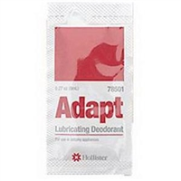 Hollister 78501 Adapt Pouch Lubricating Deodorant - .27 ounce packet, Box of 50 packets
