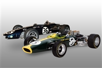 1967 Lotus 49 & 1968 Gurney Eagle-Weslake V12 Set 1:12