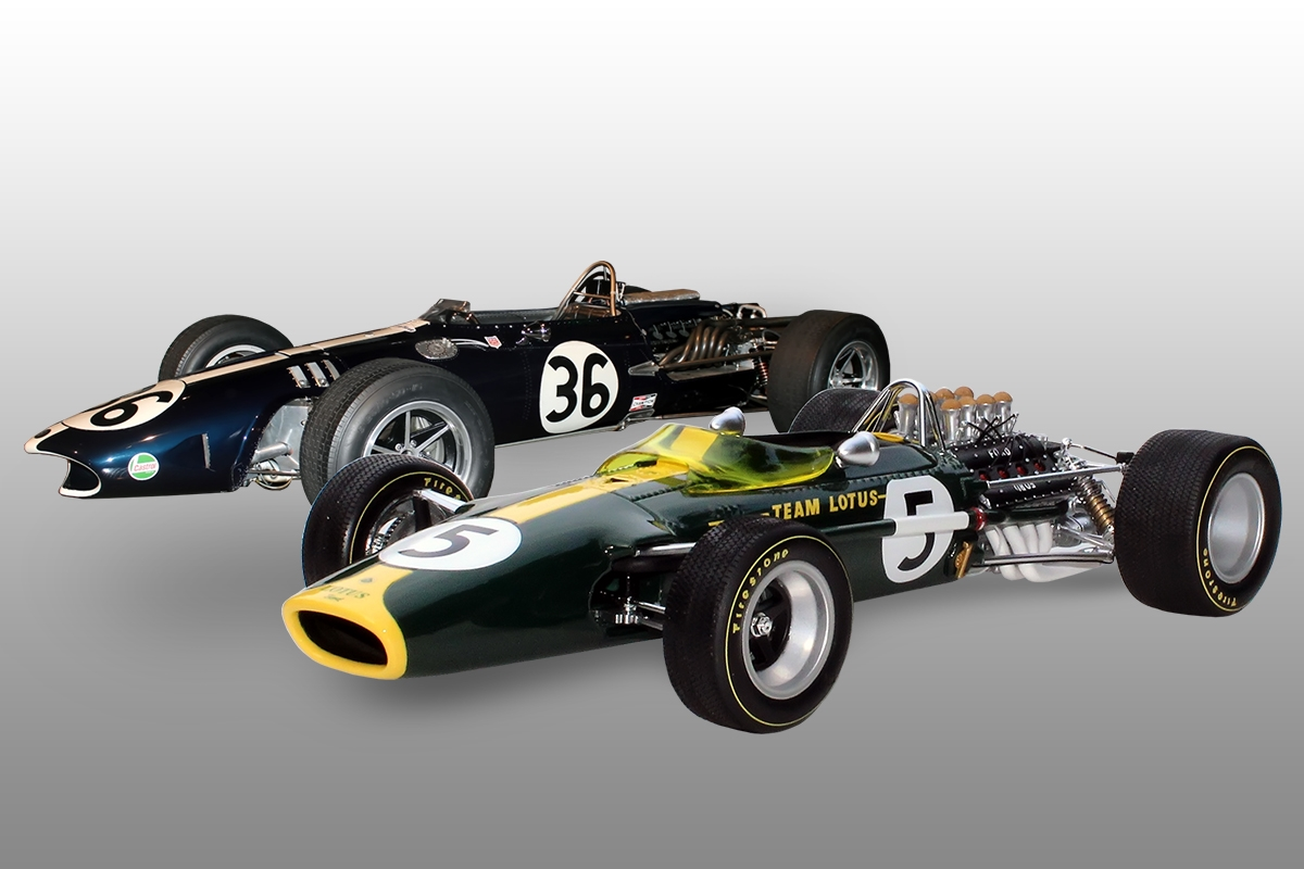 Ford Dealer Locator >> 1967 Lotus 49 & 1968 Gurney Eagle-Weslake V12 Set 1:12