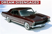 1965 Buick Riviera Gran Sport Enthusiasts Edition Burgundy Mist 1:24