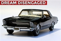 1965 Buick Riviera Gran Sport Homage Edition Regal Black 1:24