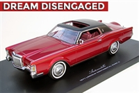 1971 Lincoln Continental Mark III Barn Find Edition Red 1:24