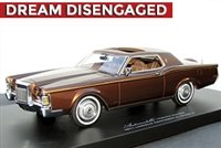 1971 Lincoln Continental Mark III Tribute Edition Ginger Bronze 1:24