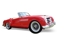 1952-1954 Nash Healey 1:24 Red