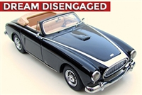 1954 Cunningham C-3 Cabriolet Homage Edition signed by the Cunningham Family in Black 1:43