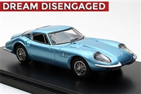 1964 Marcos 1800 RHD in Brochure Blue 1:43