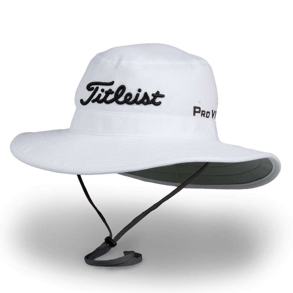Titleist Golf Tour Aussie Full Brim Sun Bucket Hat b77330da1ec