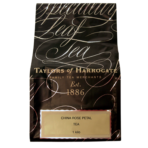 Taylors of Harrogate China Rose Petal - 2.2lb Loose Tea