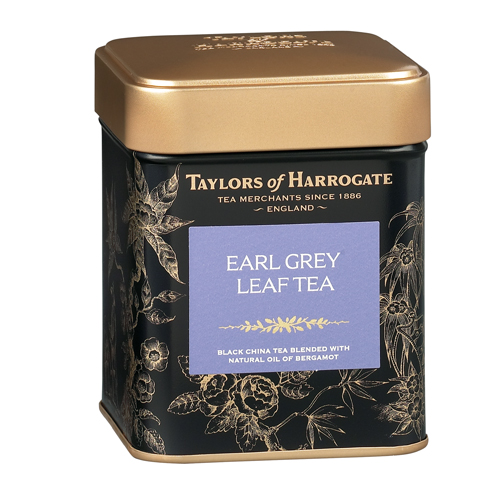 Taylors of Harrogate Earl Grey - Loose Tea Tin Cad