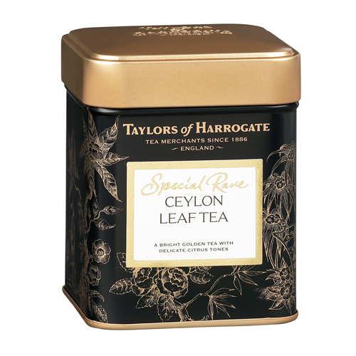 Taylors of Harrogate Special Rare Ceylon - Loose Tea Tin Caddy 3.35oz