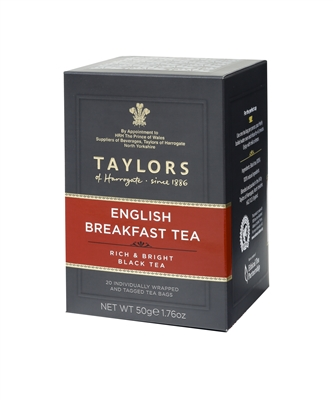 Taylors of Harrogate English Breakfast - 20 qty