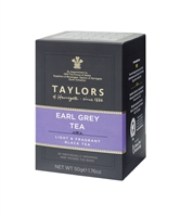 Taylors of Harrogate Earl Grey - 20  Wrapped Tea Bags