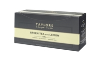 Taylors of Harrogate Green Tea with Lemon  - 100 Wrapped Tea Bags