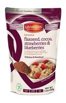 Linwoods Flaxseed, Cocoa, Strawberries & Blueberries (7.1oz)