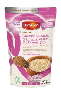 Linwoods Flaxseed, Almonds, Brazil nuts, Walnuts & Co-Q10 (7.1oz)