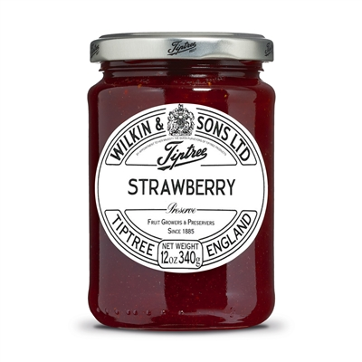 Tiptree Strawberry Preserve - 12oz jar | Brands of Britain | Strawberry Jam