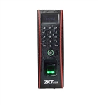 The ZKAccess TF1700 fingerprint sensor is rugged for outdoor installation.