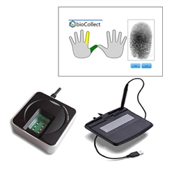 All Fulcrum Biometrics CAPSS Bundles are designed to make all PB's and SHD's fully compliant with the mandatory requirements for capturing and reporting digital (electronic) fingerprints and signatures.
