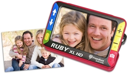 The Ruby XL HD displaying a photograph