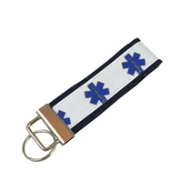 Star of Life EMS Keychain