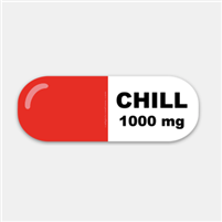 1000mg of Chill Decal