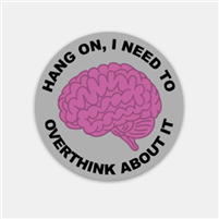 Overthink About It Decal