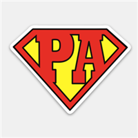 Super PA Decal
