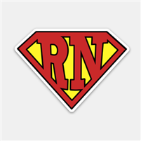 Super RN Decal
