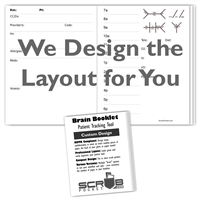 Brain Booklets - Custom Design - One-Time Design Fee