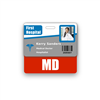 MD Badge Buddy Horizontal Standard Size