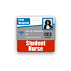 Student Nurse Badge Buddy Horizontal Standard Size