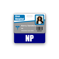 NP Badge Buddy Horizontal Standard Size
