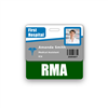 RMA Badge Buddy Horizontal Standard Size