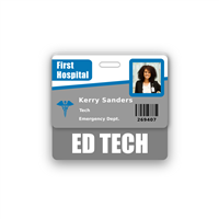 ED TECH Badge Buddy Horizontal Standard Size