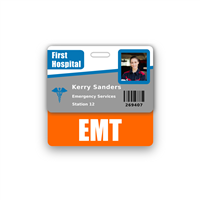 EMT Badge Buddy Horizontal Standard Size