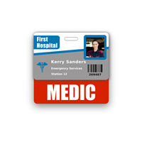 MEDIC Badge Buddy Horizontal Standard Size