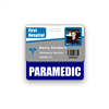 PARAMEDIC Badge Buddy Horizontal Standard Size