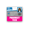 PHARMACY TECH Badge Buddy Horizontal Standard Size