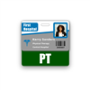 PT Badge Buddy Horizontal Standard Size