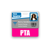 PTA Badge Buddy Horizontal Standard Size