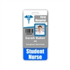 Student Nurse Badge Buddy Vertical Standard Size