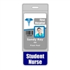 Student Nurse Badge Buddy Vertical Oversized