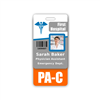 PA-C Badge Buddy Vertical Standard Size