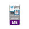 LAB Badge Buddy Vertical Standard Size